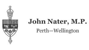John Nater, MP, Perth-Wellington