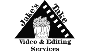 jake's take video and editing services logo